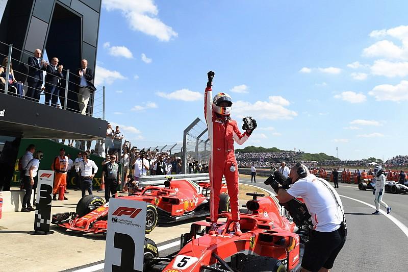 F1 Mondiale Piloti: dopo il successo di Silverstone Vettel ha 8 punti di vantaggio