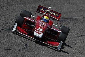 Urrutia arrancará tercero en la carrera final de Indy Lights 2018