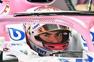 Latifi disfrutó su primer día de pruebas en el Force India VJM11