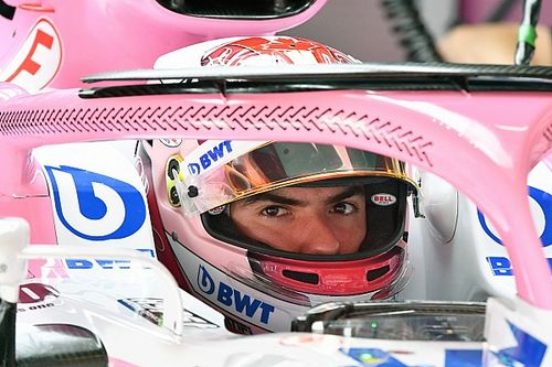 Nicholas Latifi enjoys first test of Force India VJM11