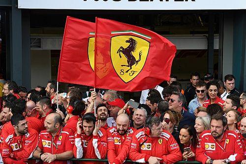 Rögtön lépéselőnyben a Ferrari a konstruktőröknél