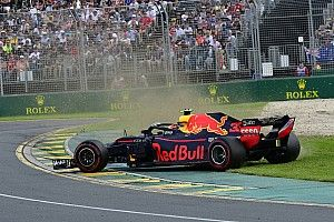 Car damage a factor in Verstappen's spin