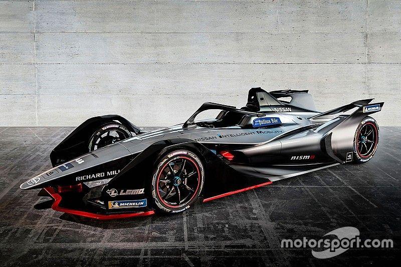Nissan desvela el monoplaza con el que debutará en la Fórmula E