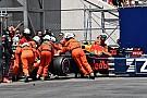 Formel 1 Unfall mit Nachspiel: Letzter Startplatz für Max Verstappen
