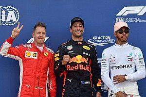 De startgrid voor de Grand Prix van Monaco