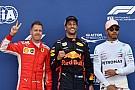 Formule 1 La grille de départ du GP de Monaco