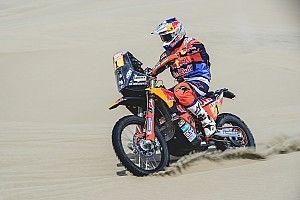 Dakar, Moto, Tappa 3: Sunderland torna al top, Barreda fa flop