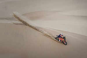 "Dakar Breaking news KTM chief says Sunderland felt ""numb"" after heavy landing"