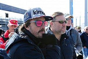 Brown espera ver Alonso disputando o título com Hamilton