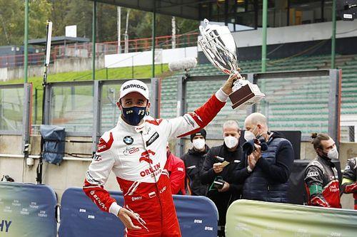 Kubica, 2010'dan beri aldığı ilk pist yarışı podyumunu değerlendirdi
