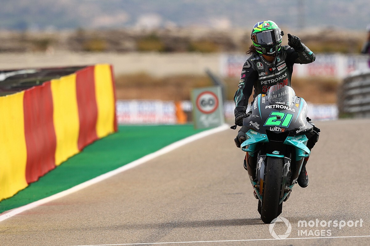 "Teruel GP winner Morbidelli felt race ""lasted only two laps"""