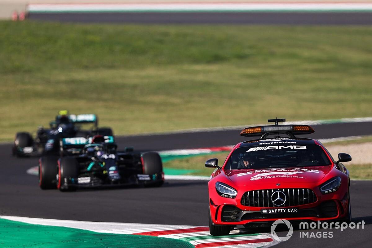多重クラッシュ発生も、F1リスタート手順は変えない! FIA「F3はうまくいった」