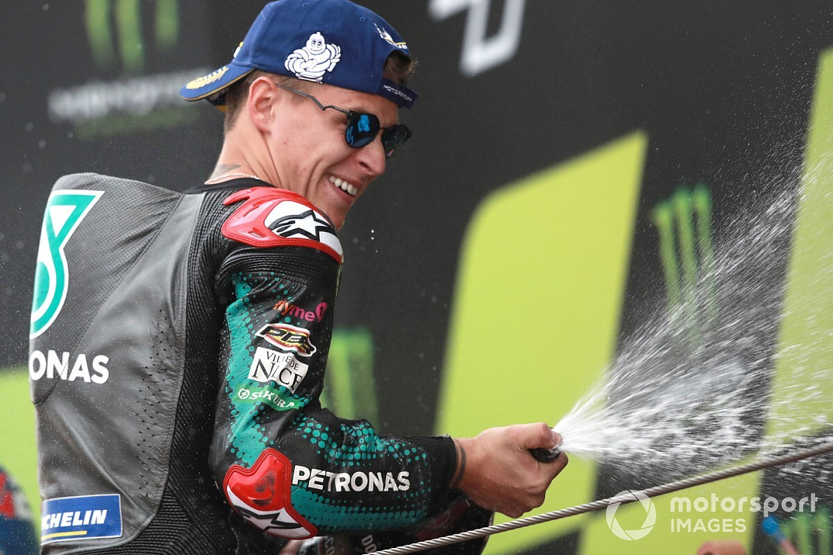 Quartararo: Barcelona win not motivated by Marquez comments
