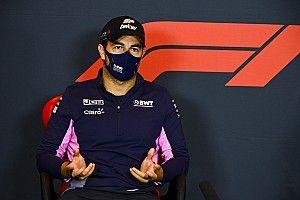 """F1: Pérez não descarta sabático em 2021, mas afirma que """"se sair, sai com orgulho"""""""