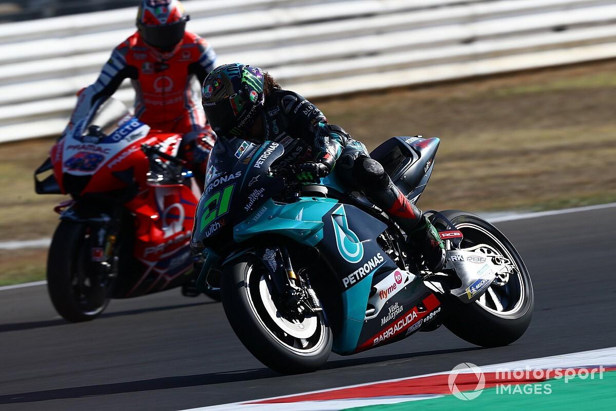 Las fotos de la clasificación del GP de San Marino en Misano