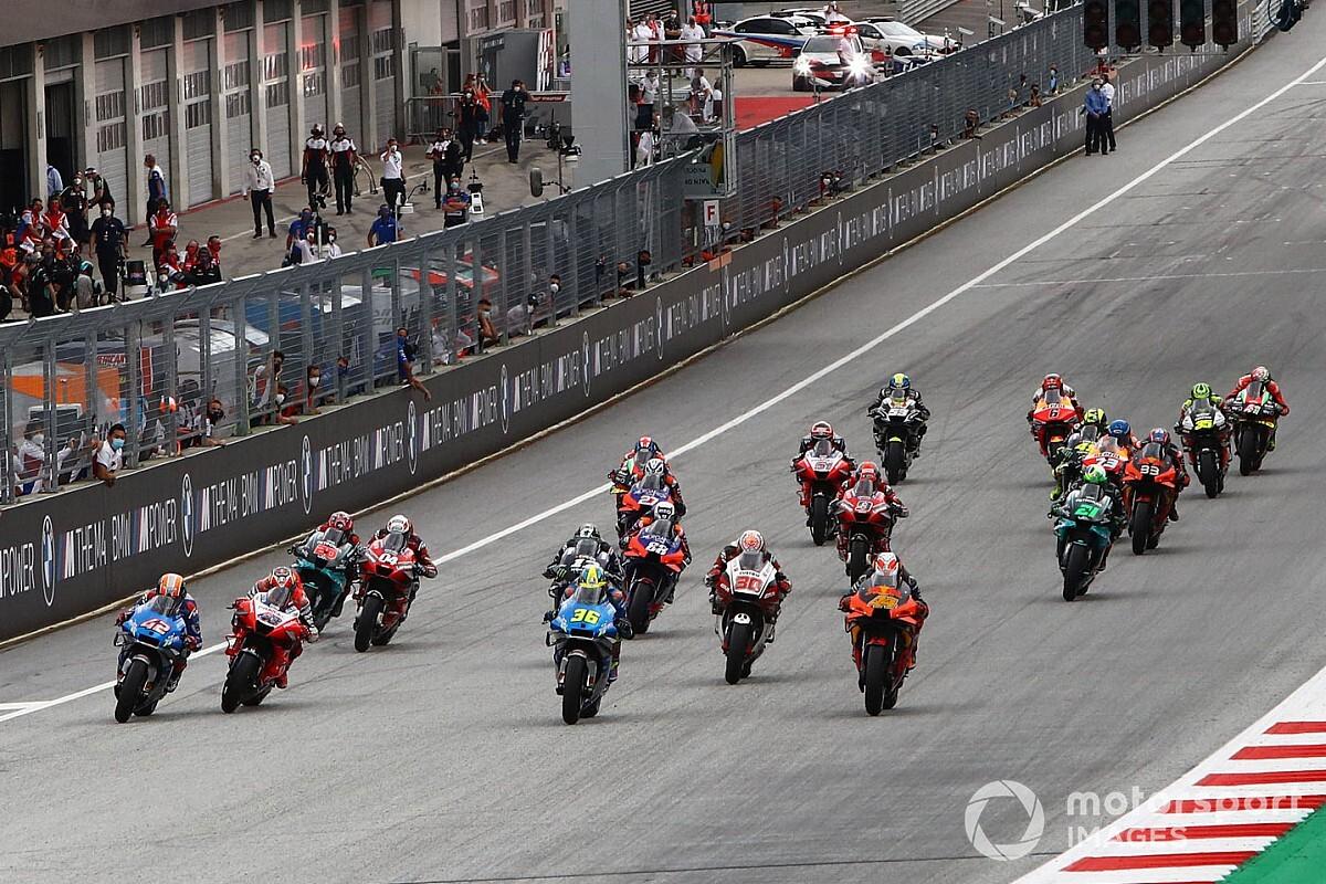 Más de la mitad de carreras de MotoGP chocarán con la F1 en 2021