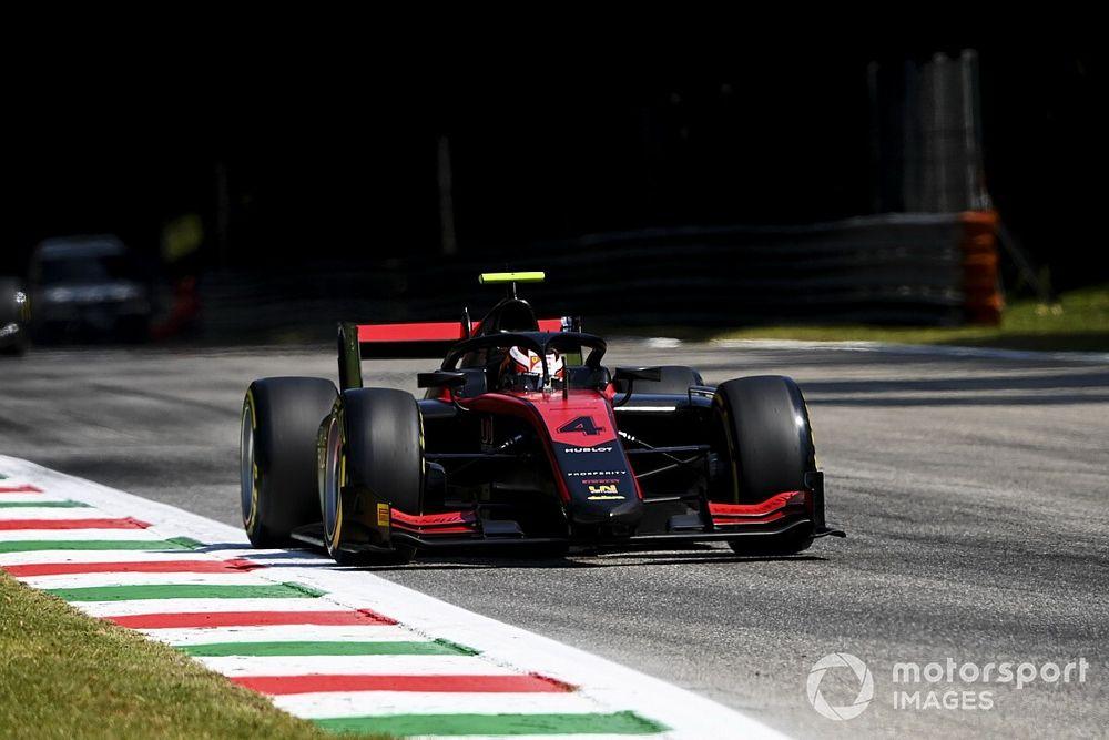 F2 en Monza: pole de Ilott y accidente de Schumacher