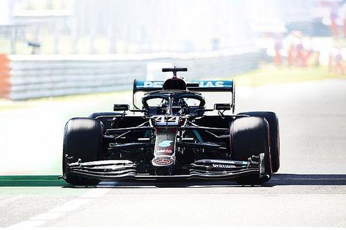 La grille de départ du Grand Prix d'Italie