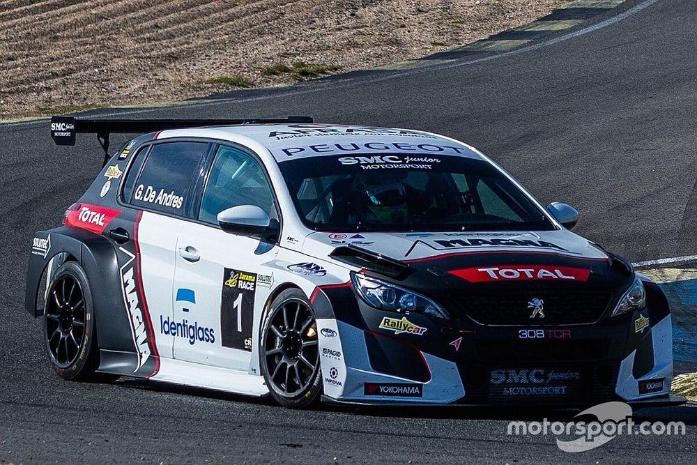 TCR Europe: due Peugeot per la debuttante SMC a Jarama