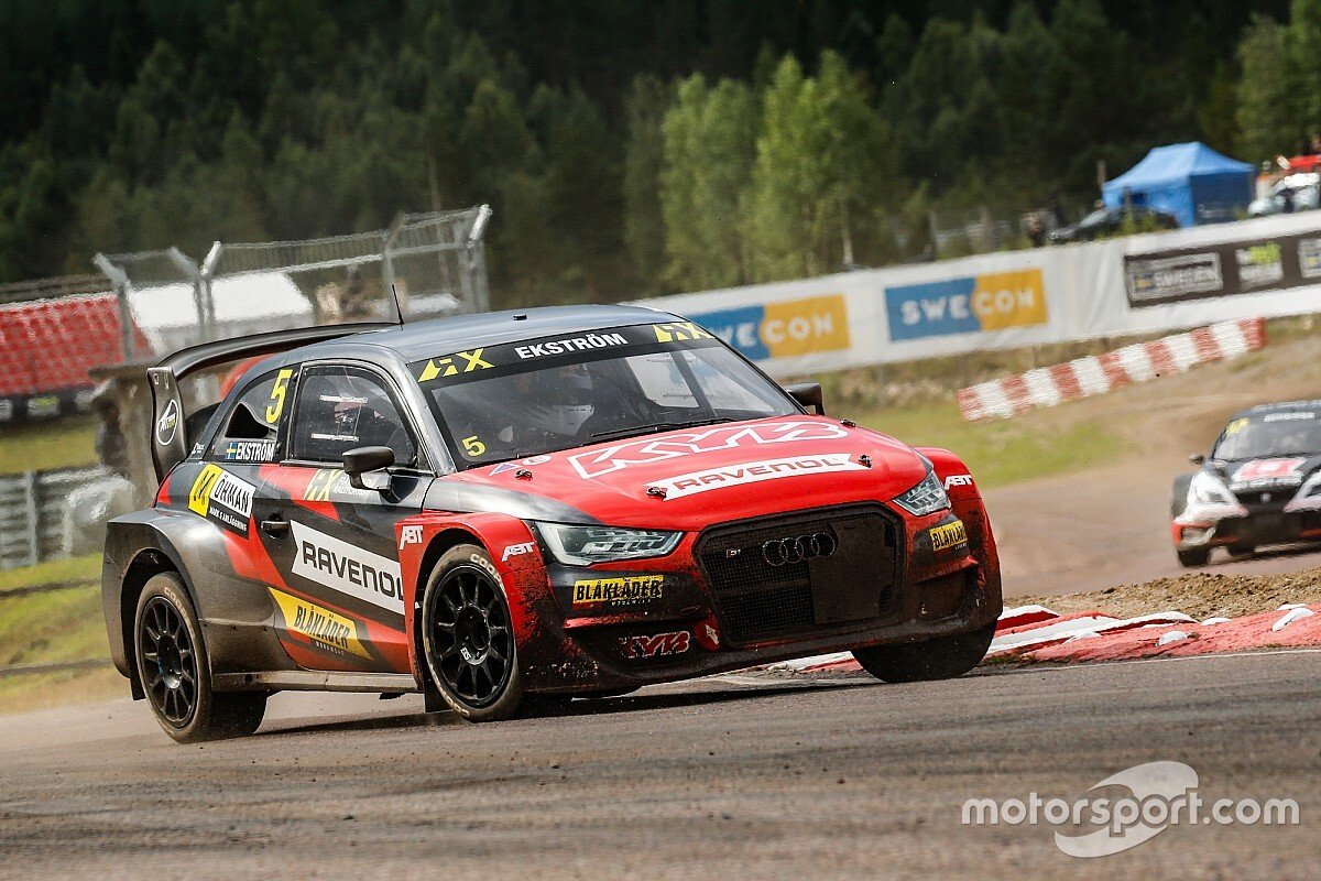 Holjes WRX: Ekstrom outduels Kristofferson to win on Sunday