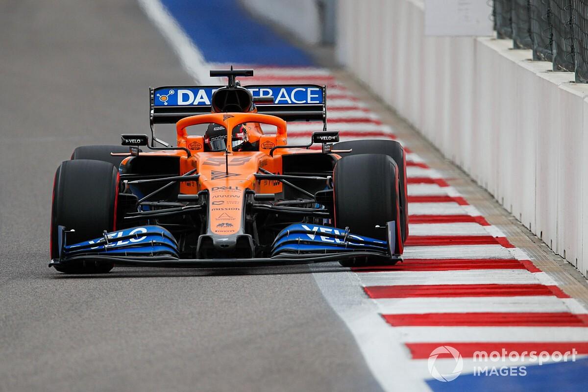 Sainz: Windrichting bepalend voor vorm McLaren in Sochi