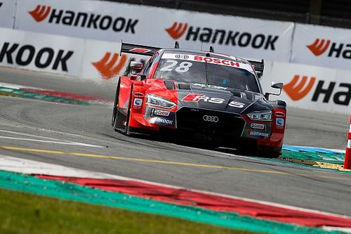 DTM: Loic Duval in Pole con l'Audi per Gara 1 ad Assen