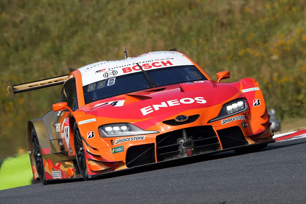 """Thumb for article title Toyota's Oshima """"very surprised"""" by rapid qualifying lap"""