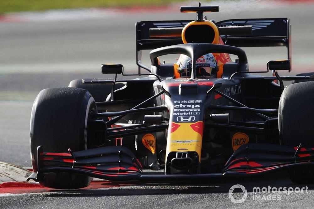 """Verstappen celebra novo carro da Red Bull: """"Parece mais rápido"""""""