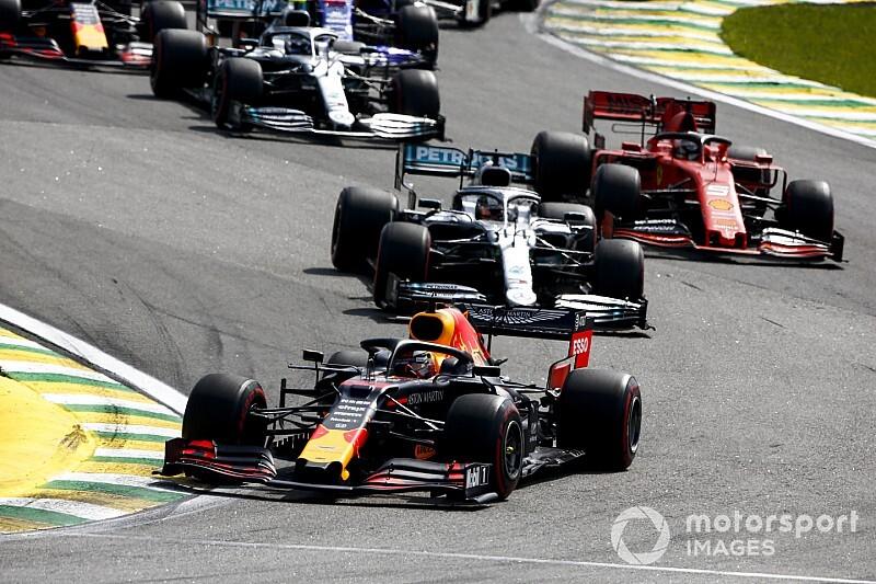 Положение в общем зачете Ф1 после Гран При Бразилии