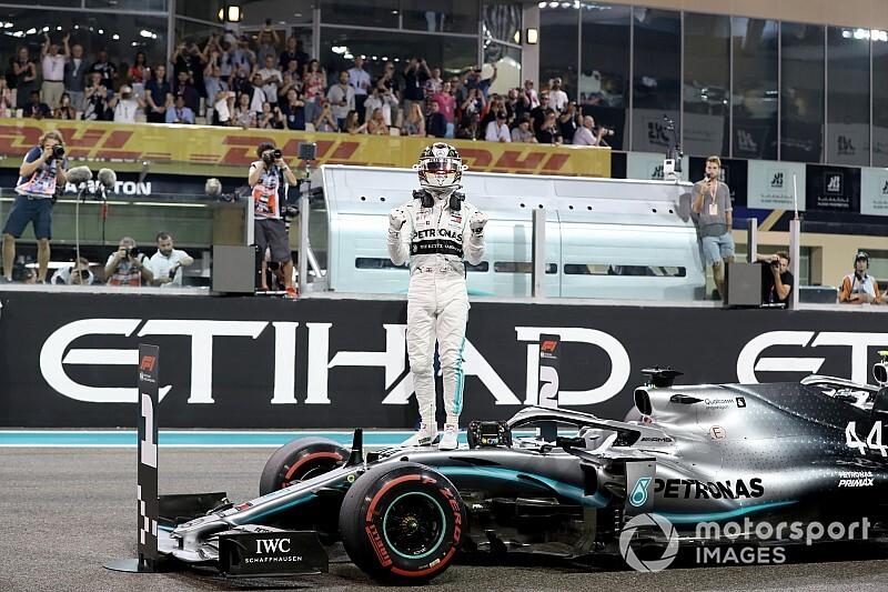 Abu Dhabi GP: Hamilton, 2019 sezonunu galibiyetle noktaladı!