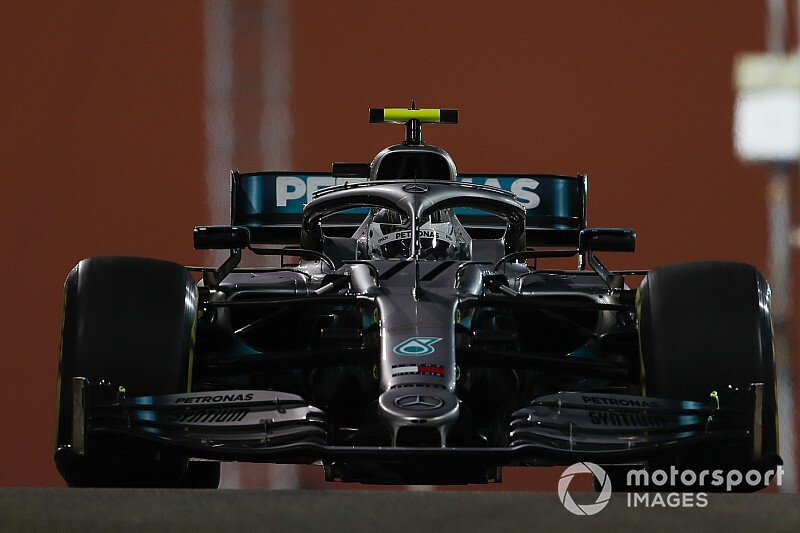 Bottas lidera la FP2 de Abu Dhabi con susto