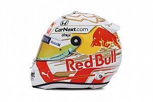 Photos - Le casque de Max Verstappen pour la saison 2020