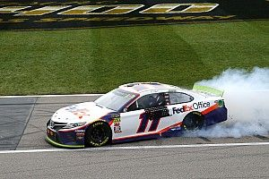 From being rumored to lose his ride, Hamlin now a title favorite