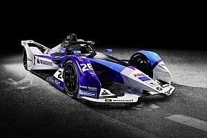BMW showcases 2019/20 Formula E car