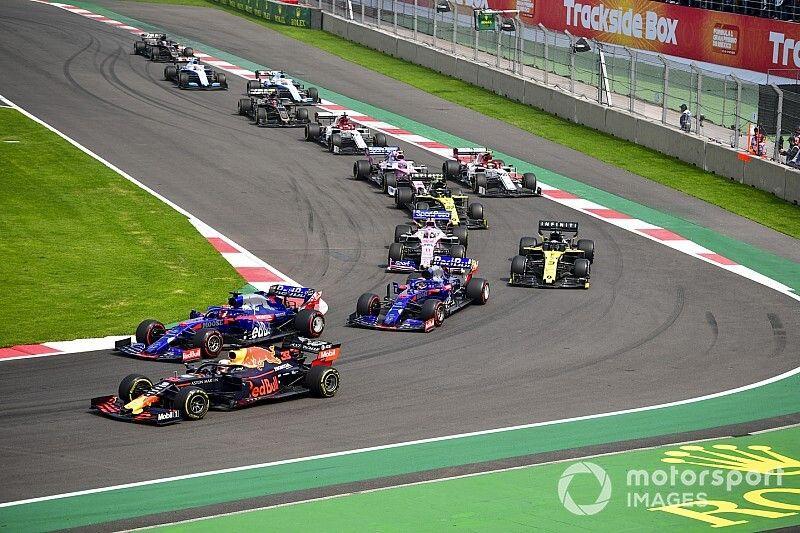 Положение в общем зачете Формулы 1 после Гран При Мексики