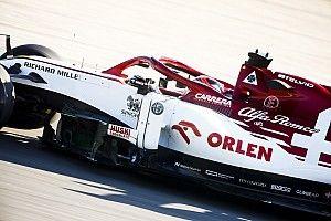 Alfa Romeo Racing Orlen na czele testów!