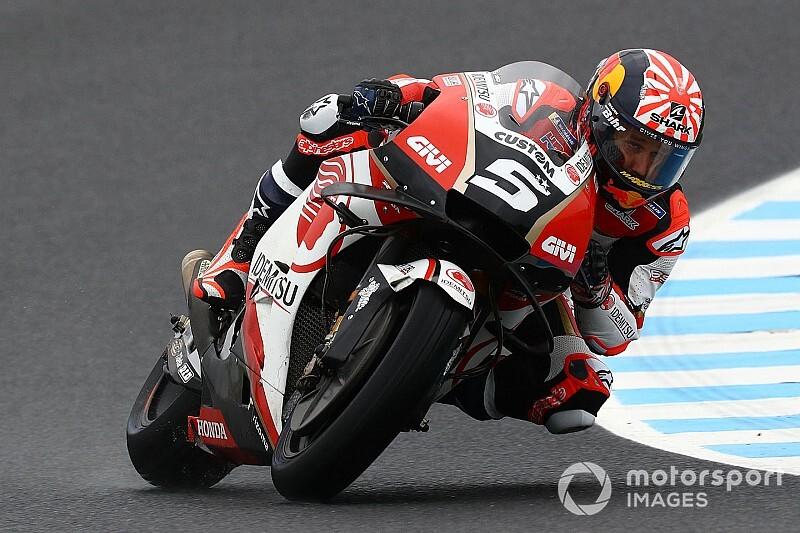 Zarco voelde zich een rookie op eerste dag met Honda