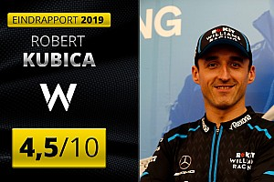 Eindrapport Robert Kubica: Williams-misère verpest Pools sprookje