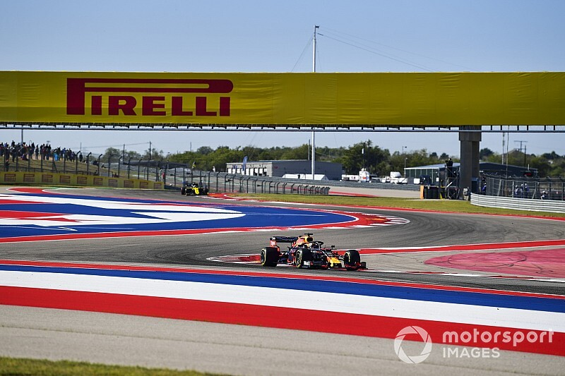 Amerika GP 1. antrenman: Seansın lideri Verstappen