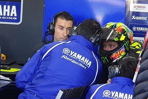 """Rossi: """"Es la tercera vez que probamos la moto de 2020, y aún no está lista"""""""