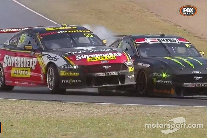 Waters pokes fun at Supercars controversies