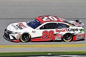 Erik Jones, Toyotas lead only Busch Clash practice at Daytona