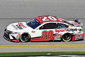 Erik Jones, Toyotas lead only Busch Clash practice at Daytona