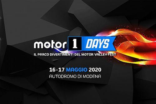 Motor1Days: quarta edizione a Modena il 16 e 17 maggio