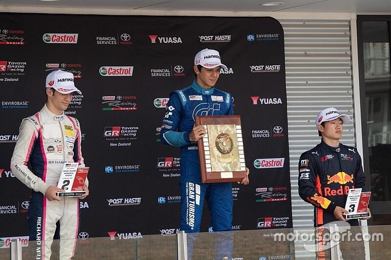 Un altro podio per Grégoire Saucy