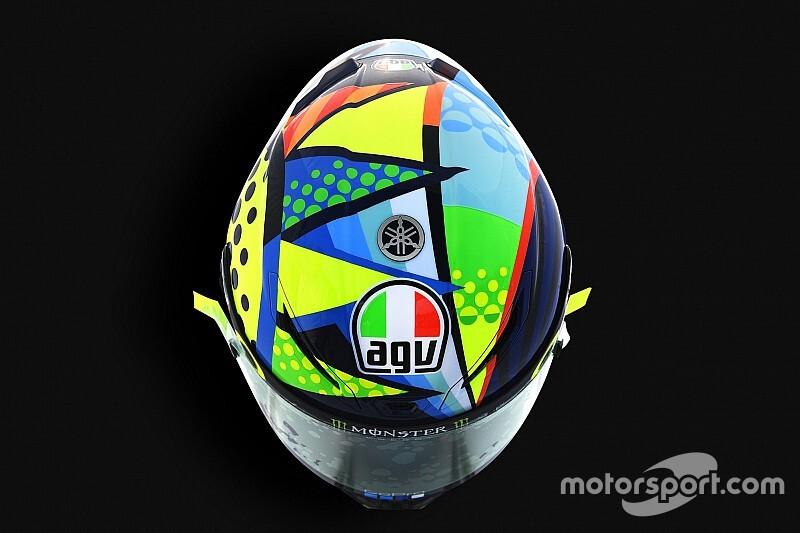 Galería: los cascos de Valentino Rossi en pretemporada desde 2003