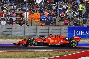 Vettel respecto a su abandono en Austin: No sé qué pasó