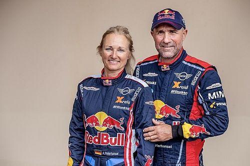 Peterhansel no correrá el Dakar con su mujer