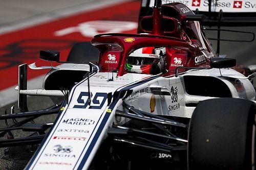 Giovinazzi victime d'une erreur d'installation moteur chez Alfa Romeo