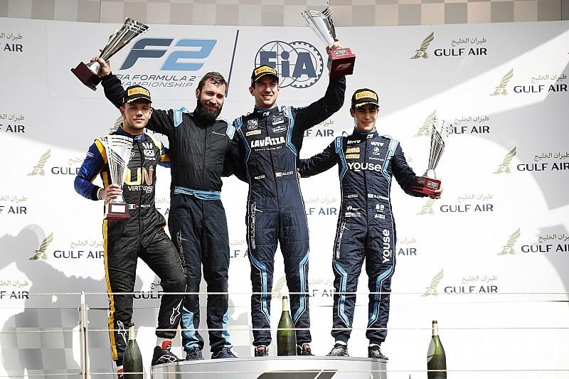 F2 Bahrain: Latifi menangi feature race, Gelael tersingkir